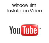 Window Tint Installation Video
