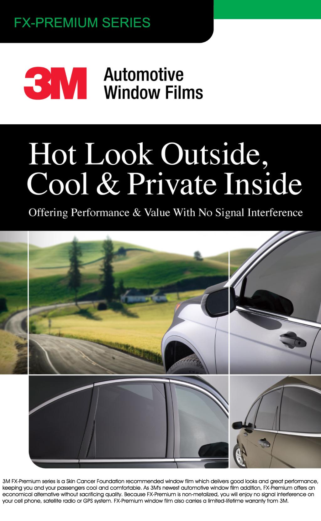 3M Automotive Window Tint | King's Window Tint | Columbus, IN