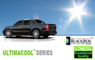 The Black Box Tint Window Film UltimaCool Series