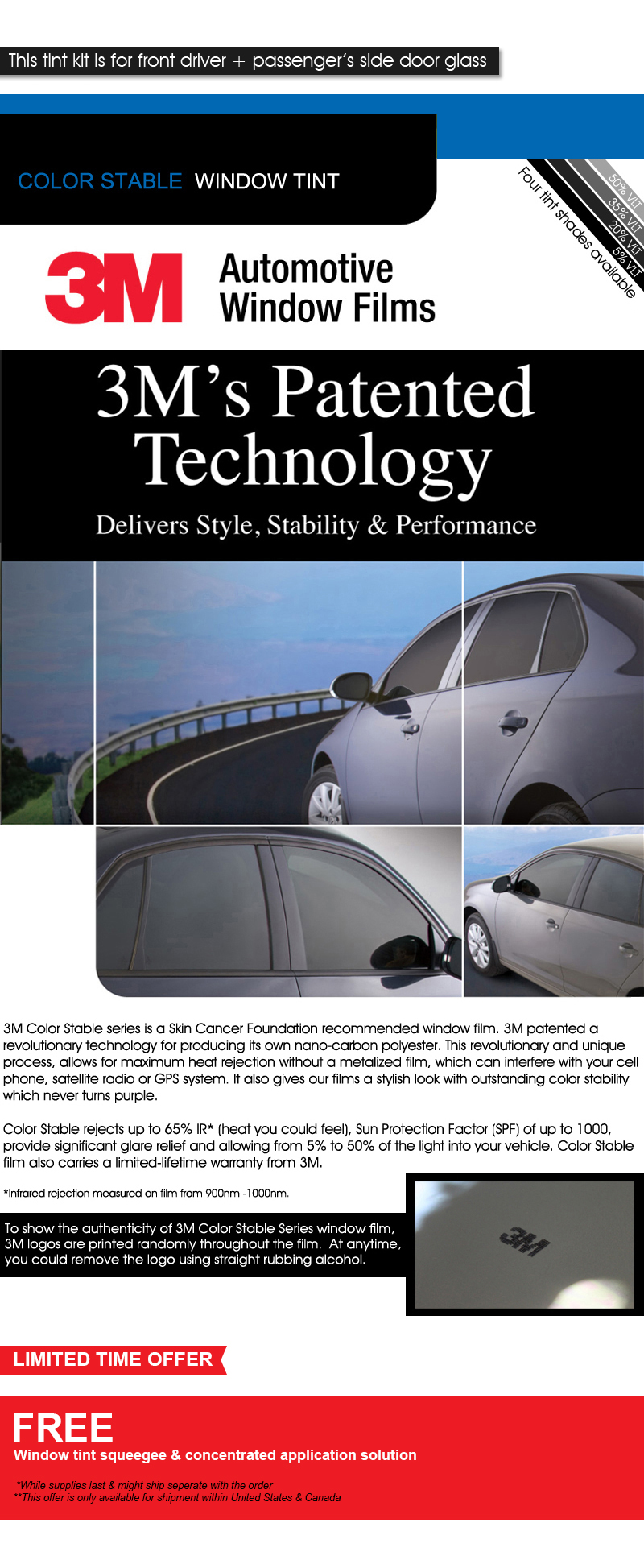 PreCut Window Film for Chevy 3500 Crew 01-05 Front Doors any Tint Shade