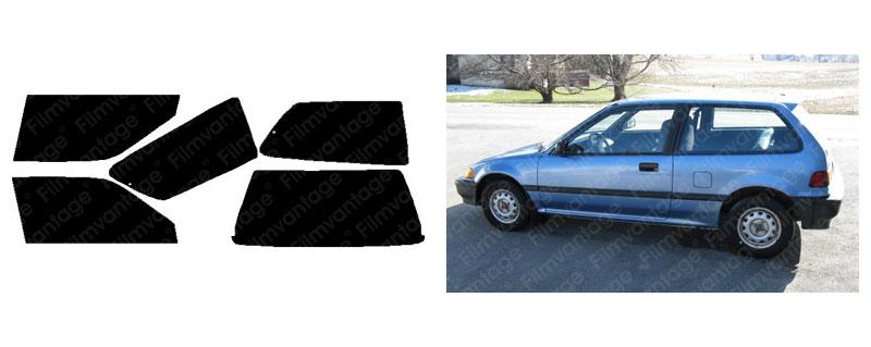Precut All Window Film for Honda Civic Si Hatchback 02-05 any Tint Shade