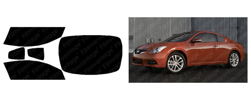 UC PRECUT AUTO WINDOW TINTING TINT FILM FOR NISSAN ALTIMA 2DR COUPE 08-13