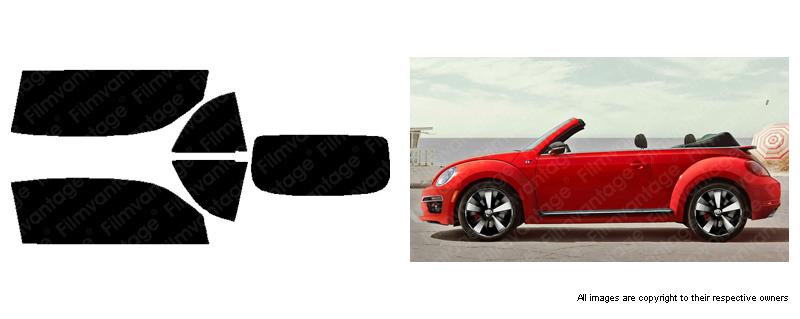 ALPINE PRECUT AUTO WINDOW TINTING TINT FILM FOR VW//VOLKSWAGEN BEETLE 12-18